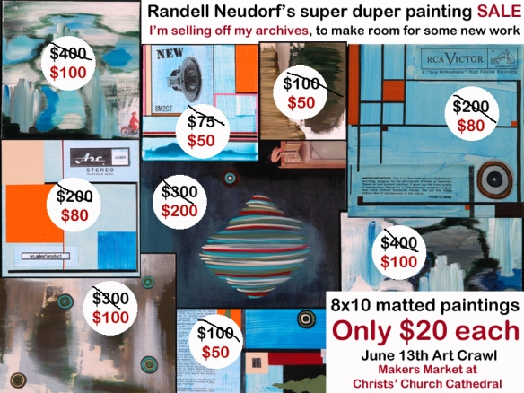 Randell Neudorf Art Sale copy