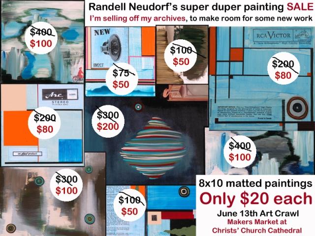 Randell Neudorf Art Sale copy
