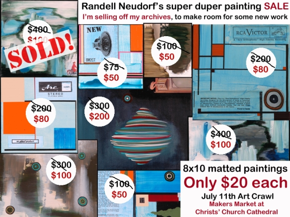 Randell Neudorf Art Sale July copy